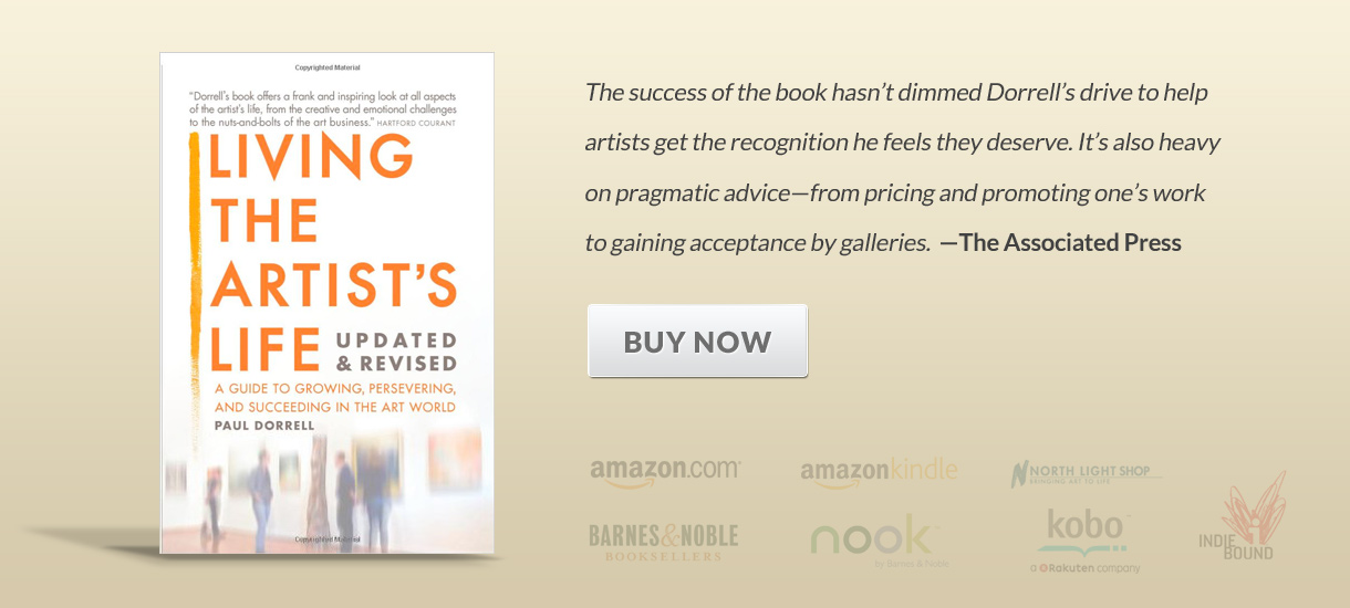 Buy the Living the Artists Life - now at Amazon